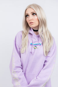 Spaced Out Hoodie Lavender