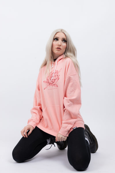 Killing You Softly Hoodie Pink