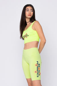 Fix Me Bike Shorts Green