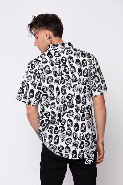Reaper Guide Button Up White