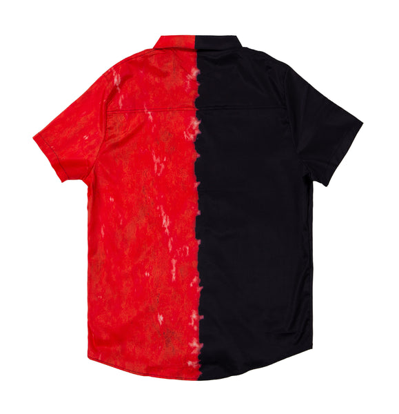 Bred Button-Up Shirt