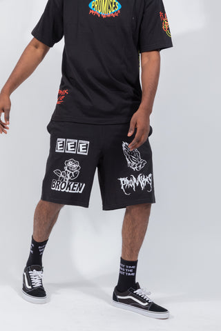 Banger Champion Shorts Black
