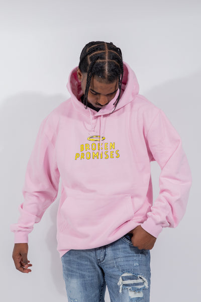 Playing With Fire Horn Hoodie Pink