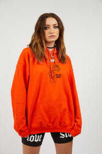 Could Be Different Orange Hoodie