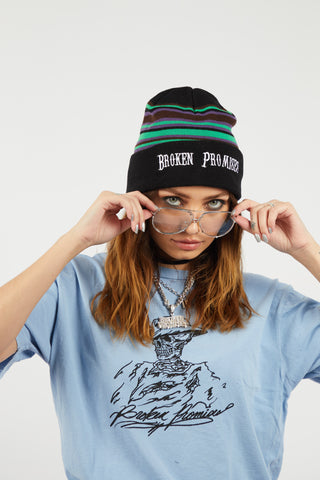Risk It All Striped Beanie