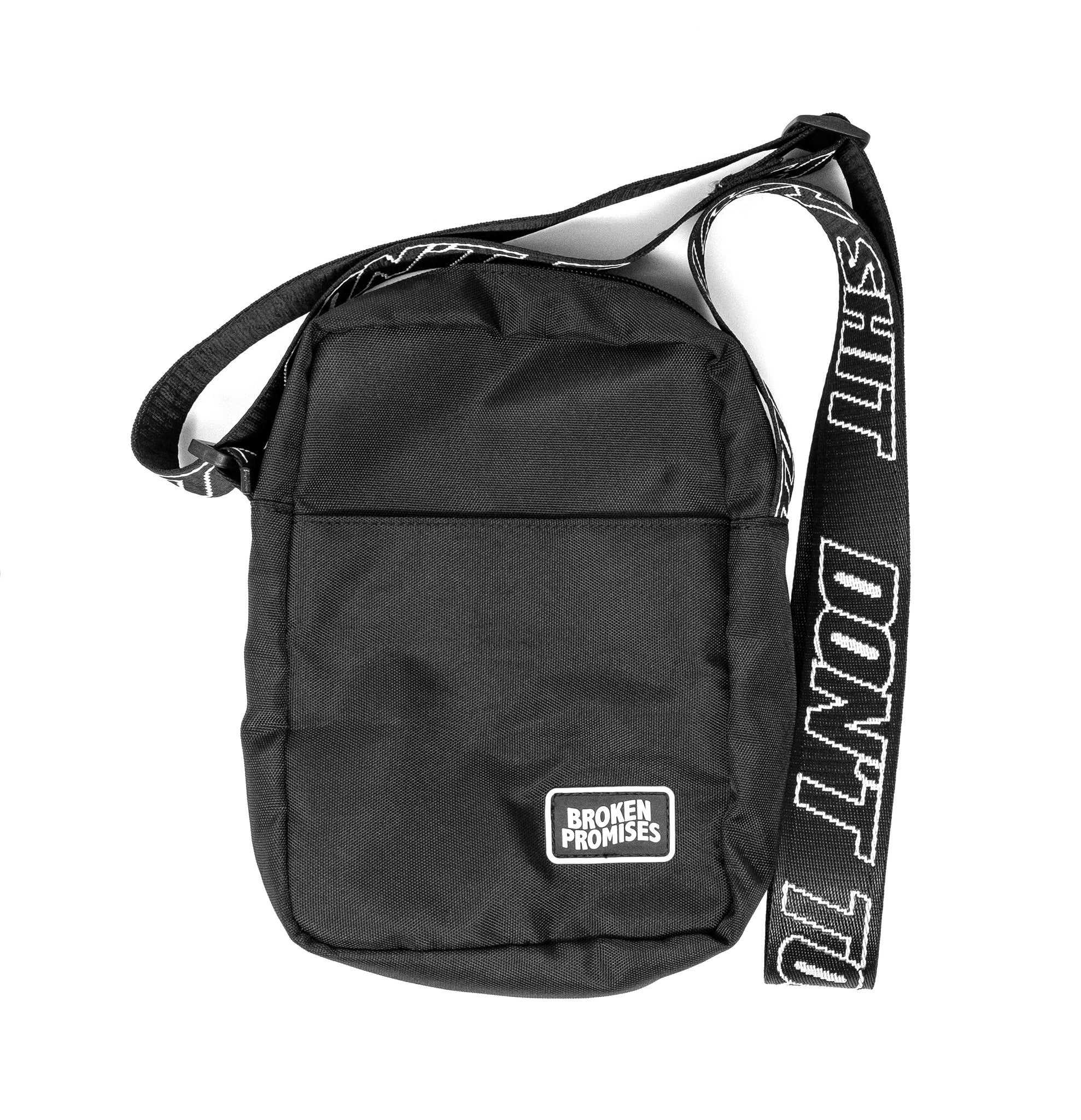 Don't Touch My Shit Side Bag Black