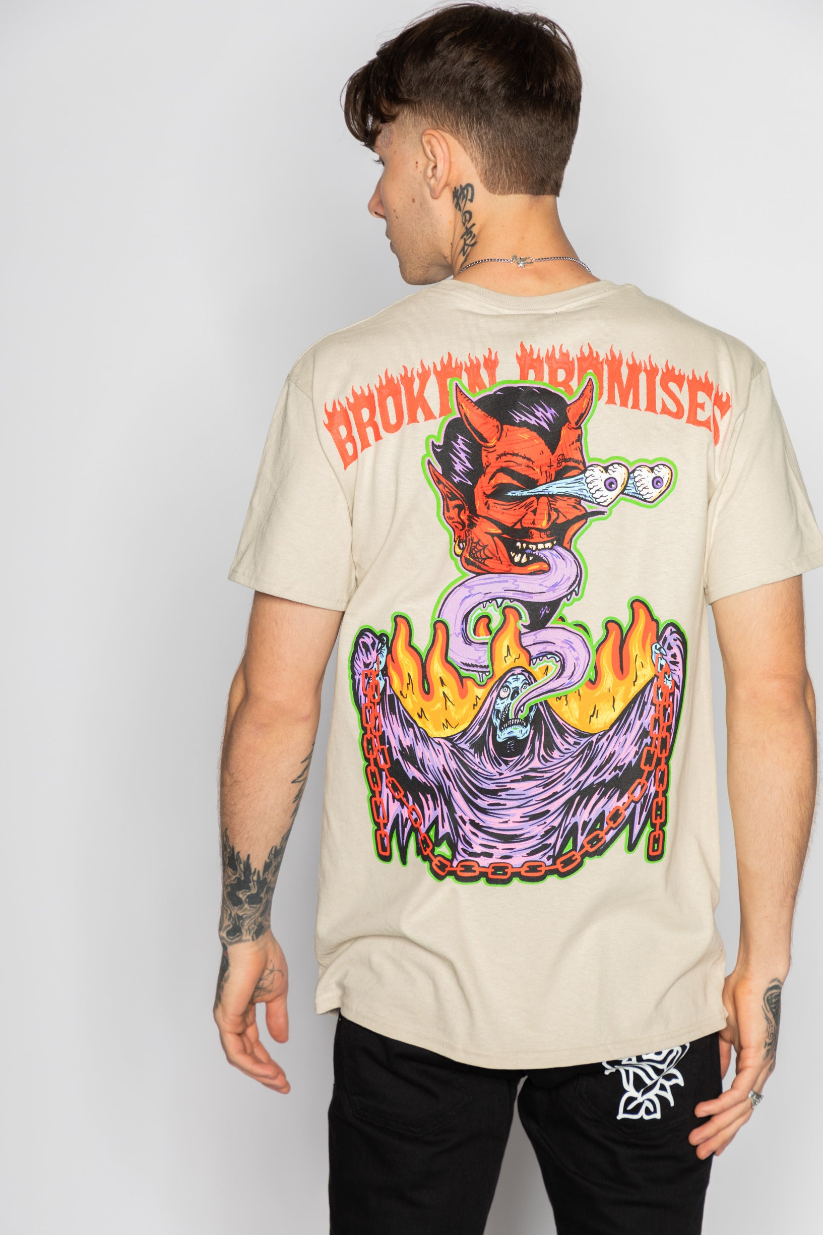 Worst In Me Tee Sand