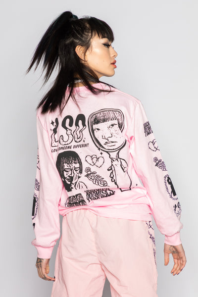 "Fake Fairytale L/S ""Pink"""