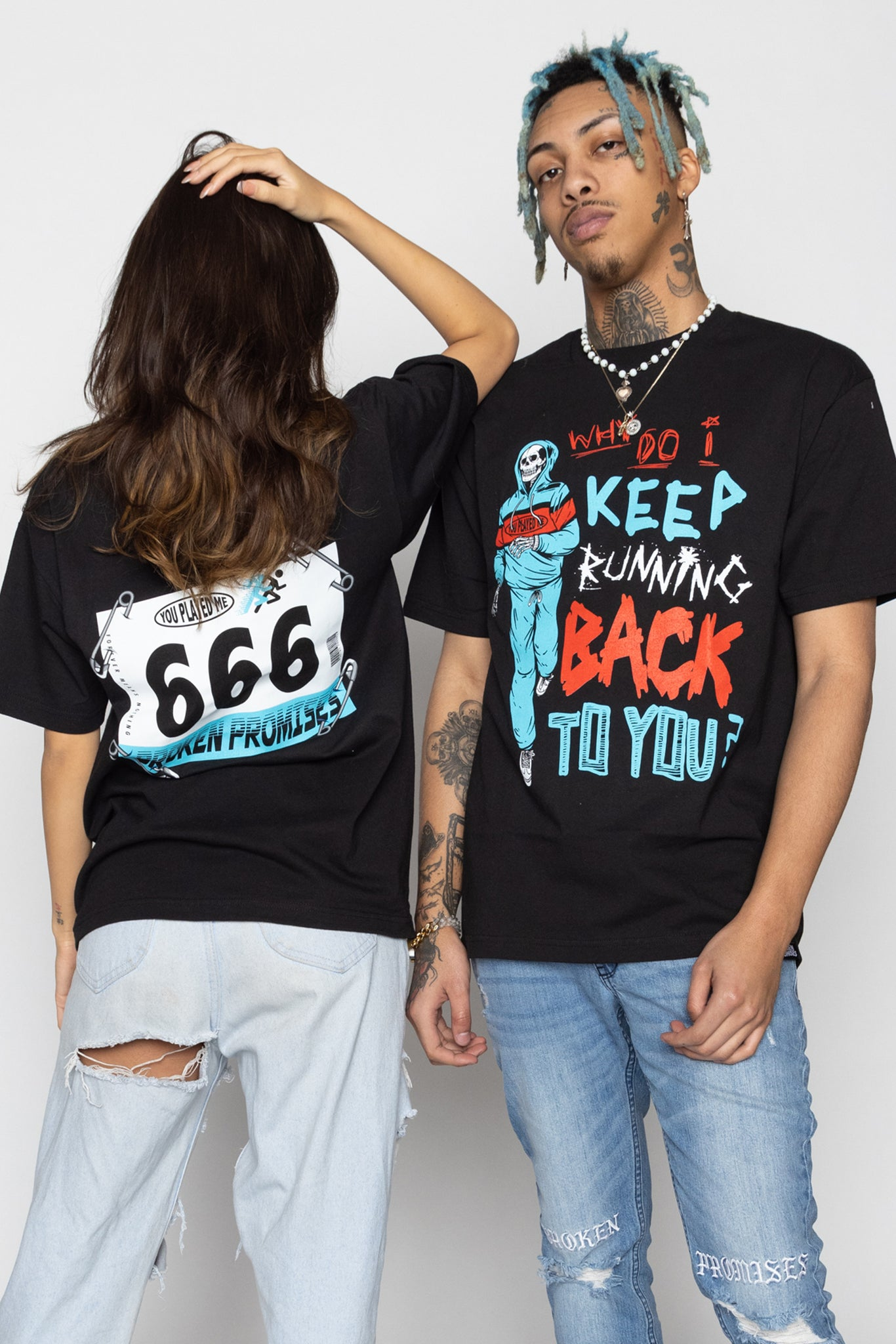 Back to You Tee Black