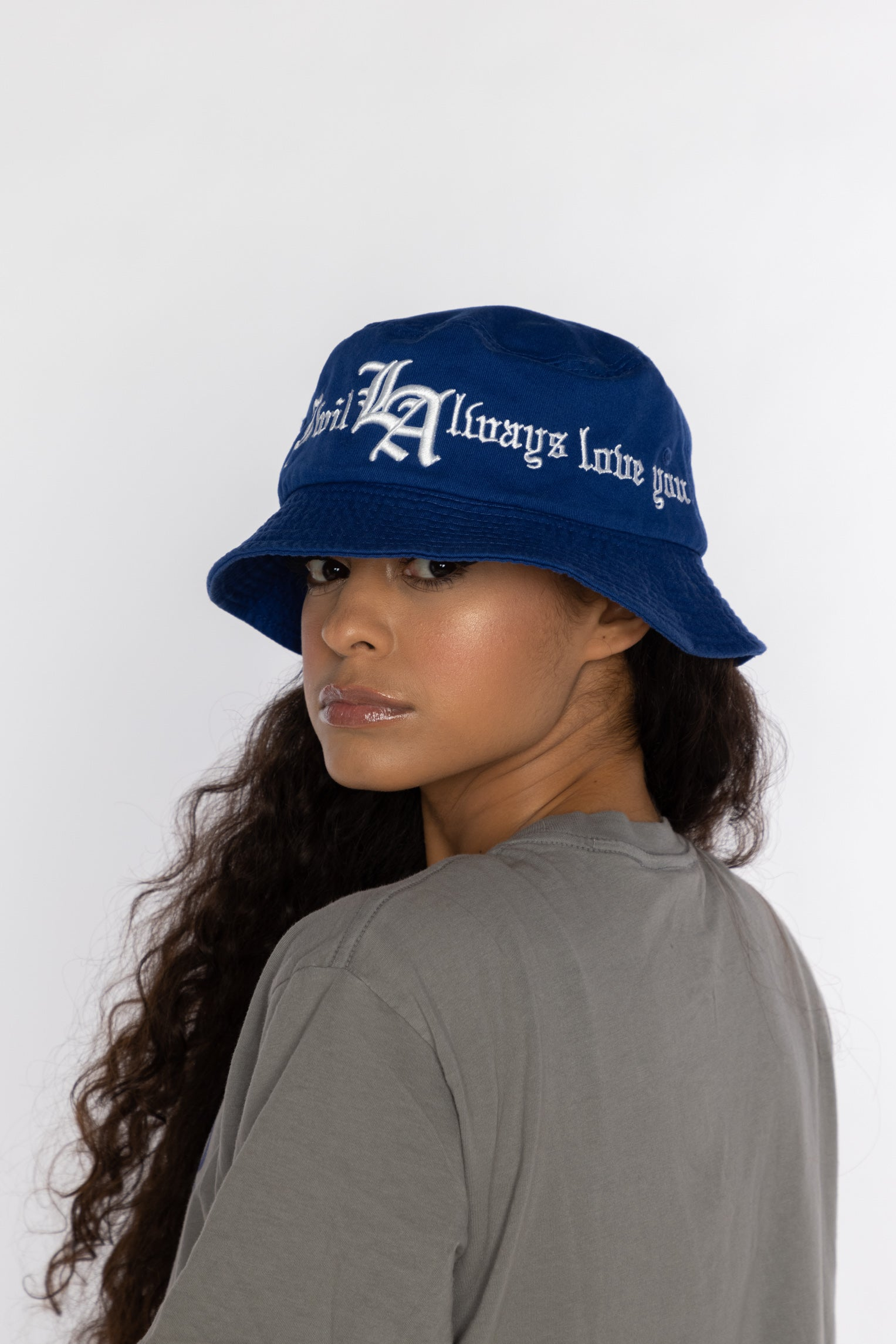 Always Love You Bucket Hat Royal