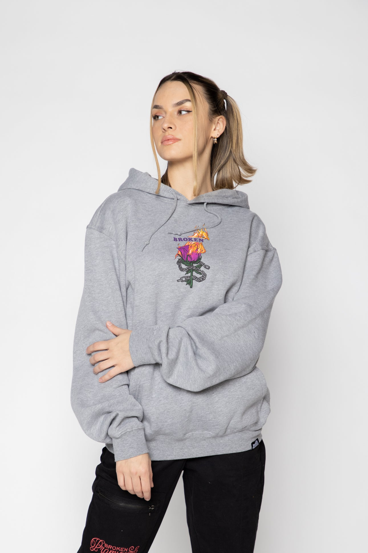 BP Without You Hoodie Grey