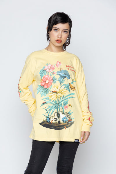 Lovely Decay L/S Yellow