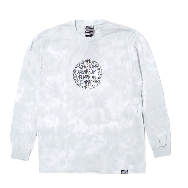 For The Moment Tie Dye L/S Grey