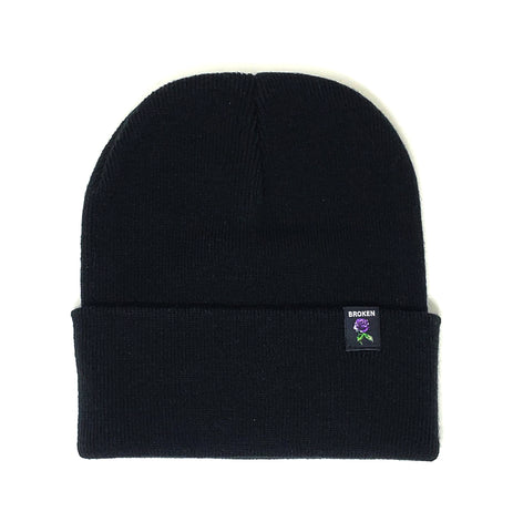 Graveyard Beanie Black/Purple