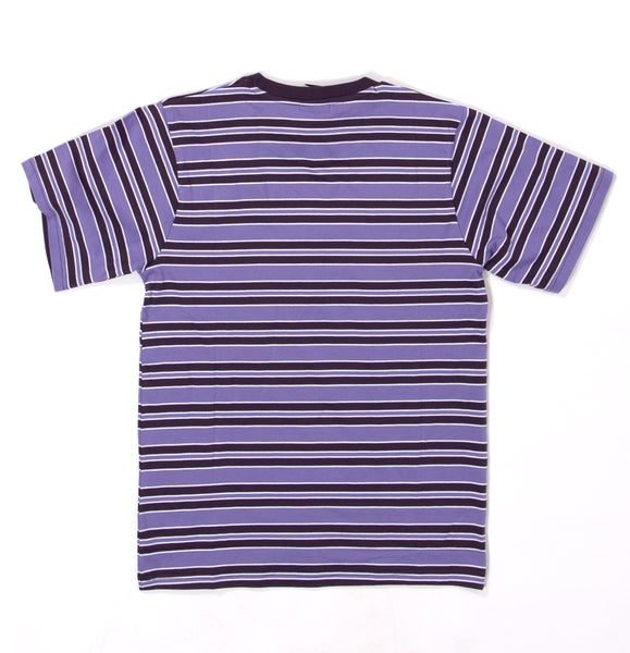 Heartless Stripe Tee Purple