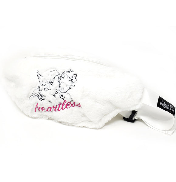 Heartless Faux Fur Waistbag