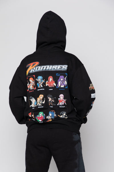 Choose Your Fighter Hoodie Black