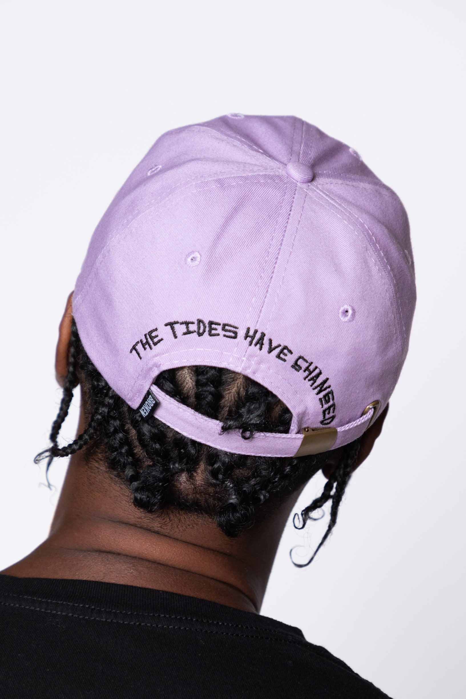 Tides Dad Hat Purple