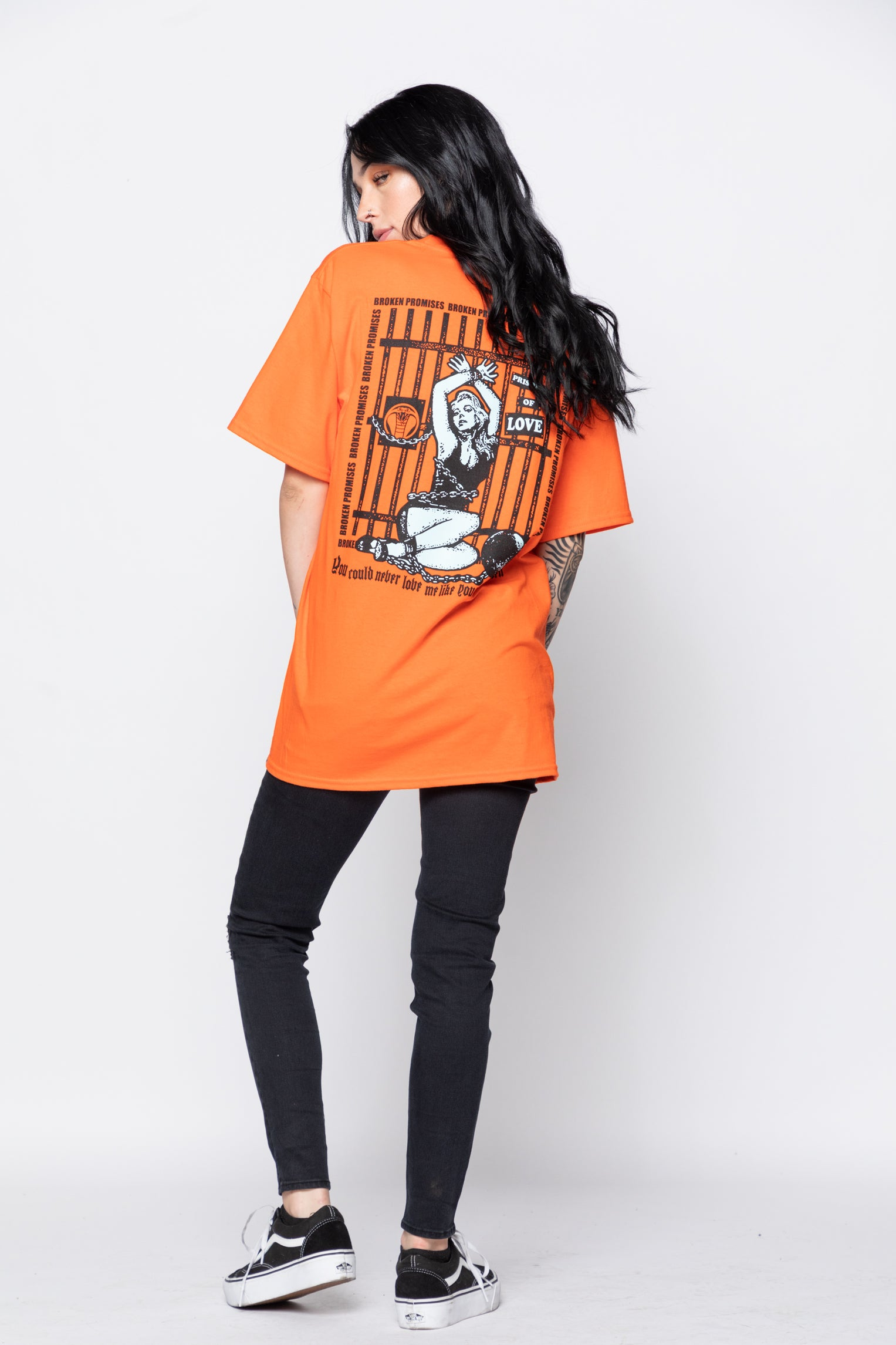 Imprisonment Tee Orange