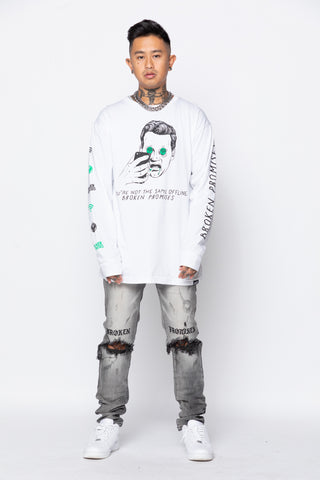 Catfish L/S White