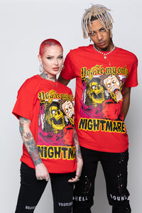 Only Nightmare Tee Red