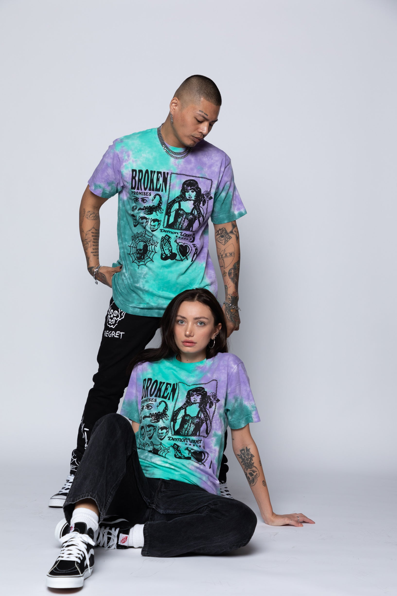 Demon Lover Tie Dye Tee