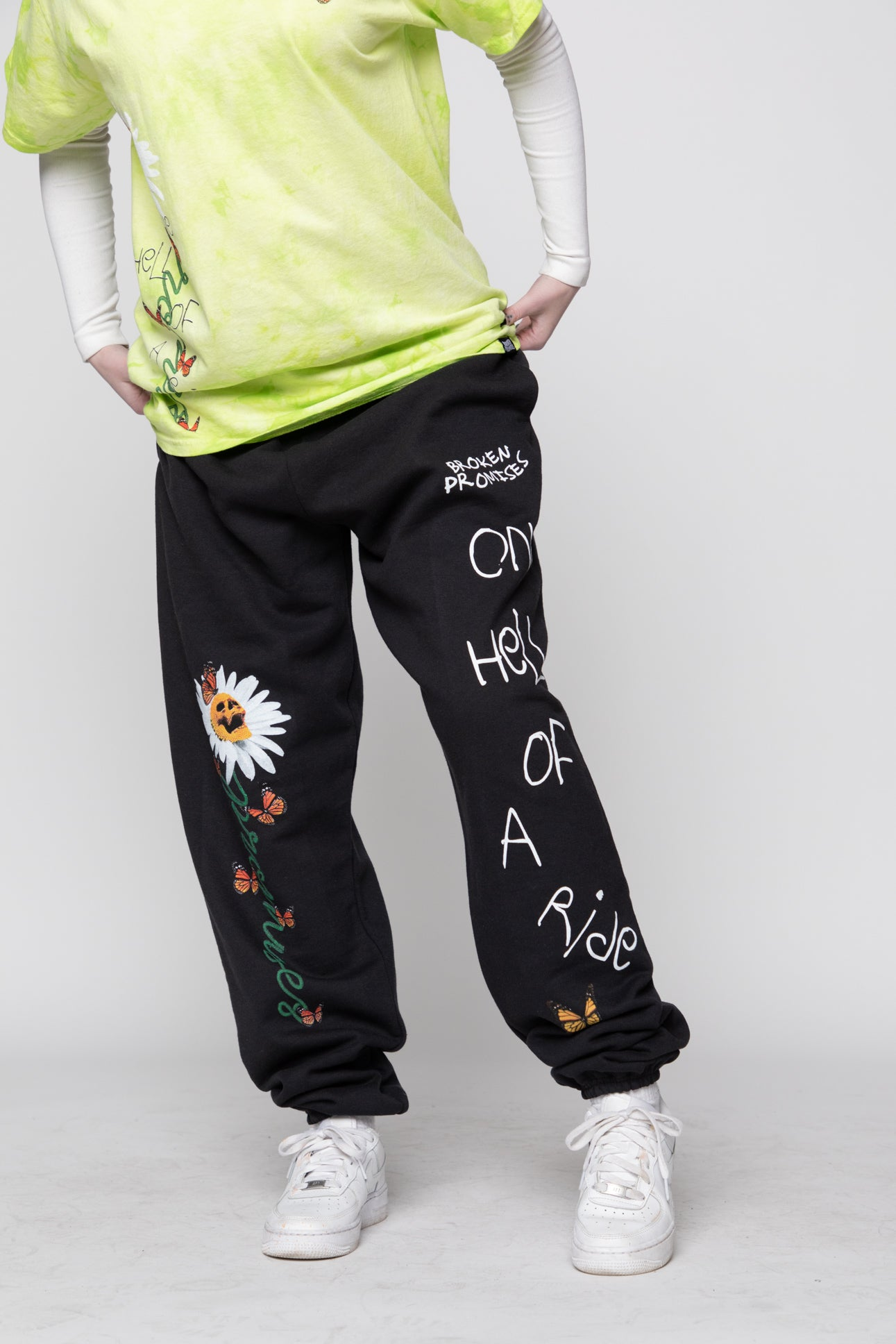 Hell of a Ride Sweatpants Black