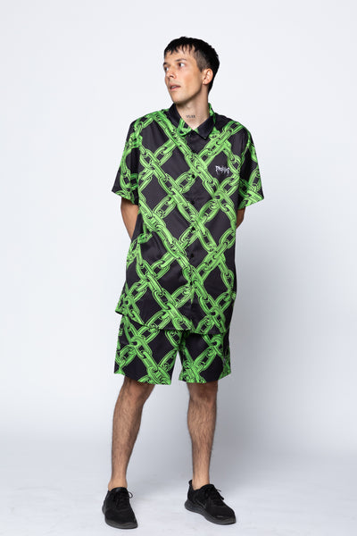 Link Up Button-Up Shirt