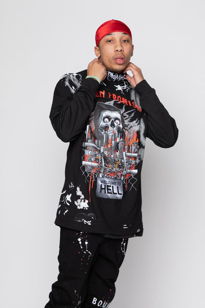 Gates of Hell AOP Tee