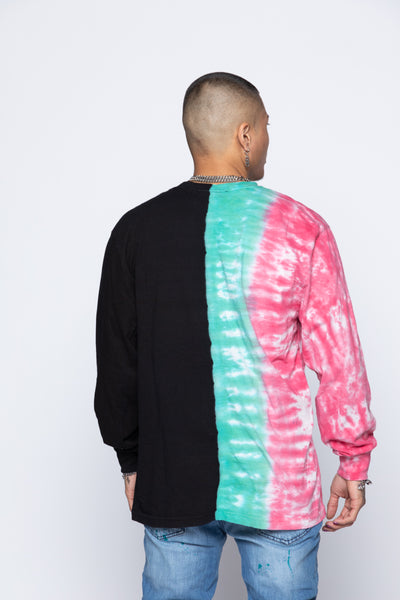 Wave Logo Tri-Color L/S