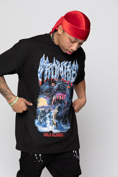 Cold Blooded Tee Black
