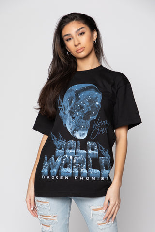 Cold World Tee Black