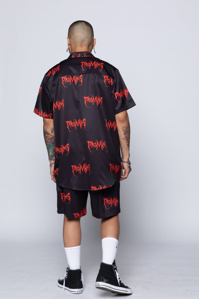 Blood Bath Button-Up Shirt