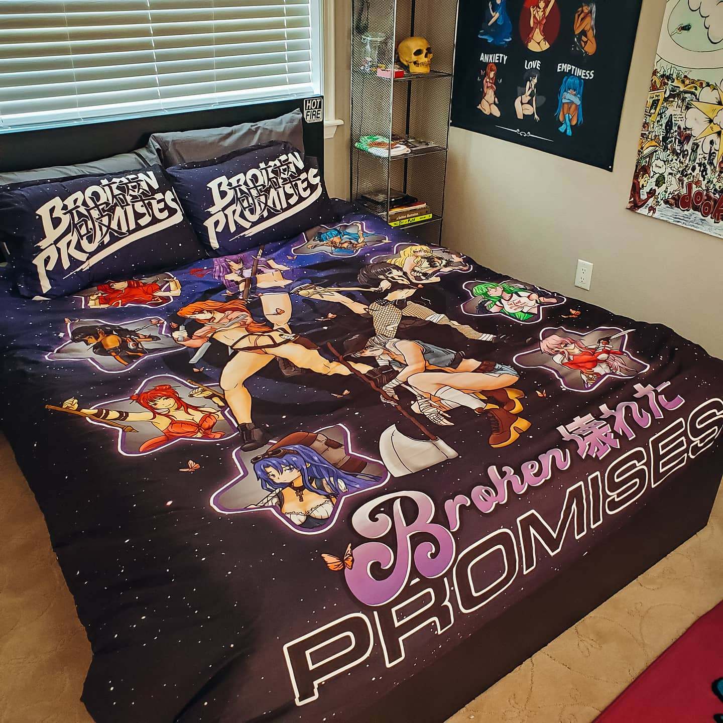 Star Crusher Bedding