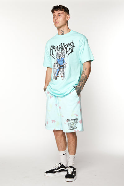Delirious Tie Dye Fleece Shorts