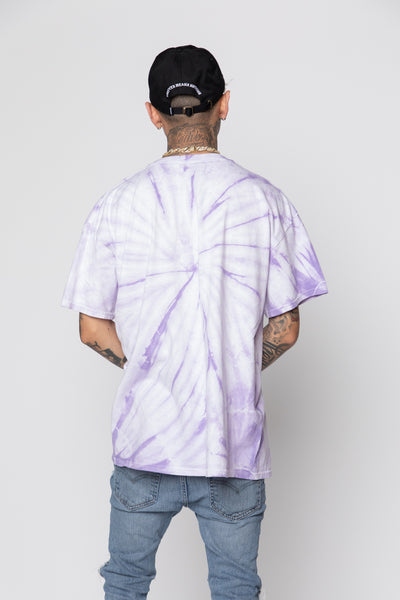 Eternal Love Tie Dye Tee Purple