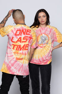 Ruin My Life Tie Dye Tee Orange