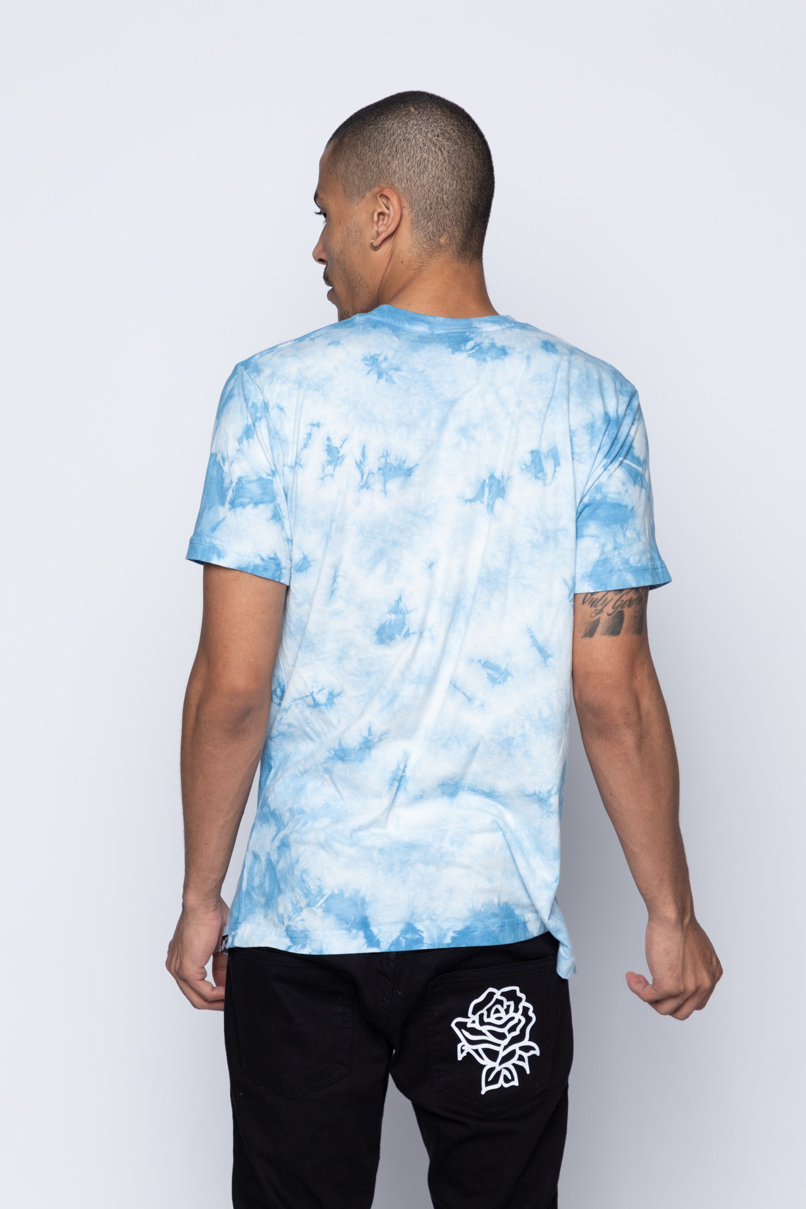 Splash Zone Tee Blue