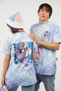 Smother S/S Tie Dye Tee Blue