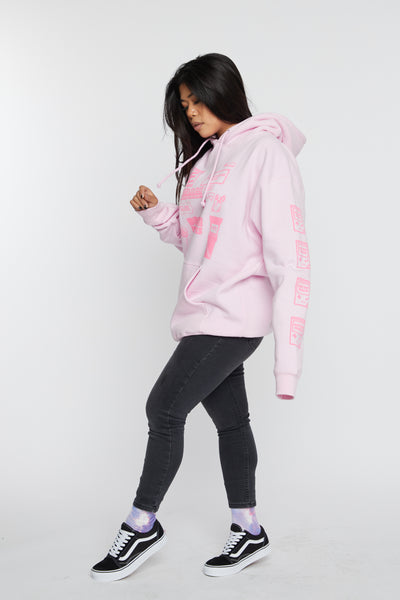 Don't Play Games Hoodie Pink