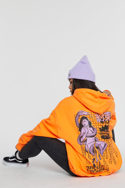 Deceiver Hoodie Orange