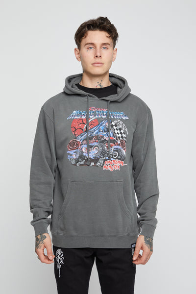 Not a Long Time Pigment Dye Hoodie