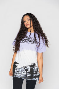 Guard Your Heart Dip Dye Tee Lavender