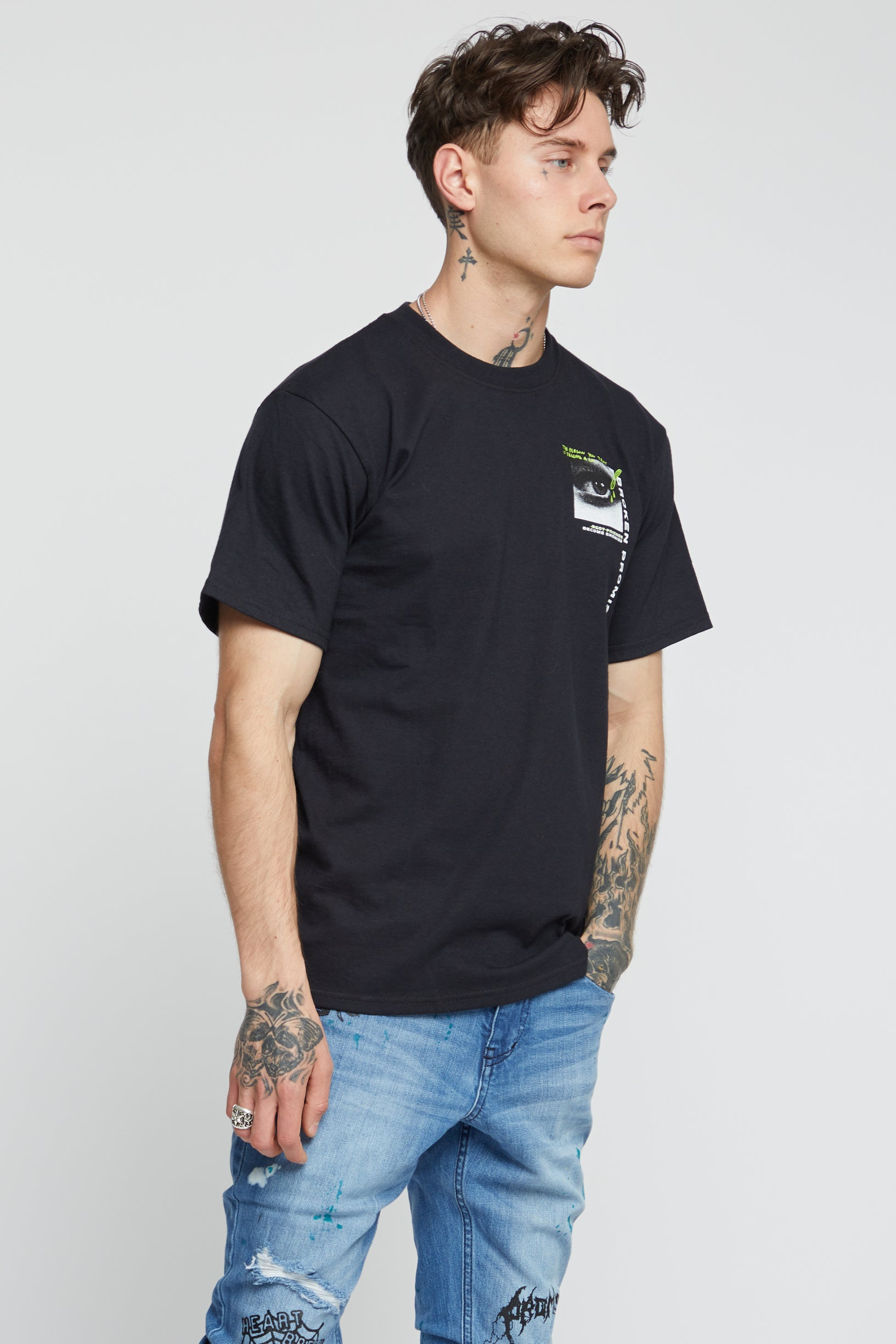 Deception Black SS Tee