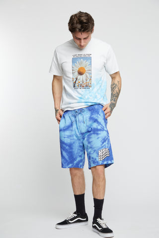 Suspects Tie Dye Short Blue