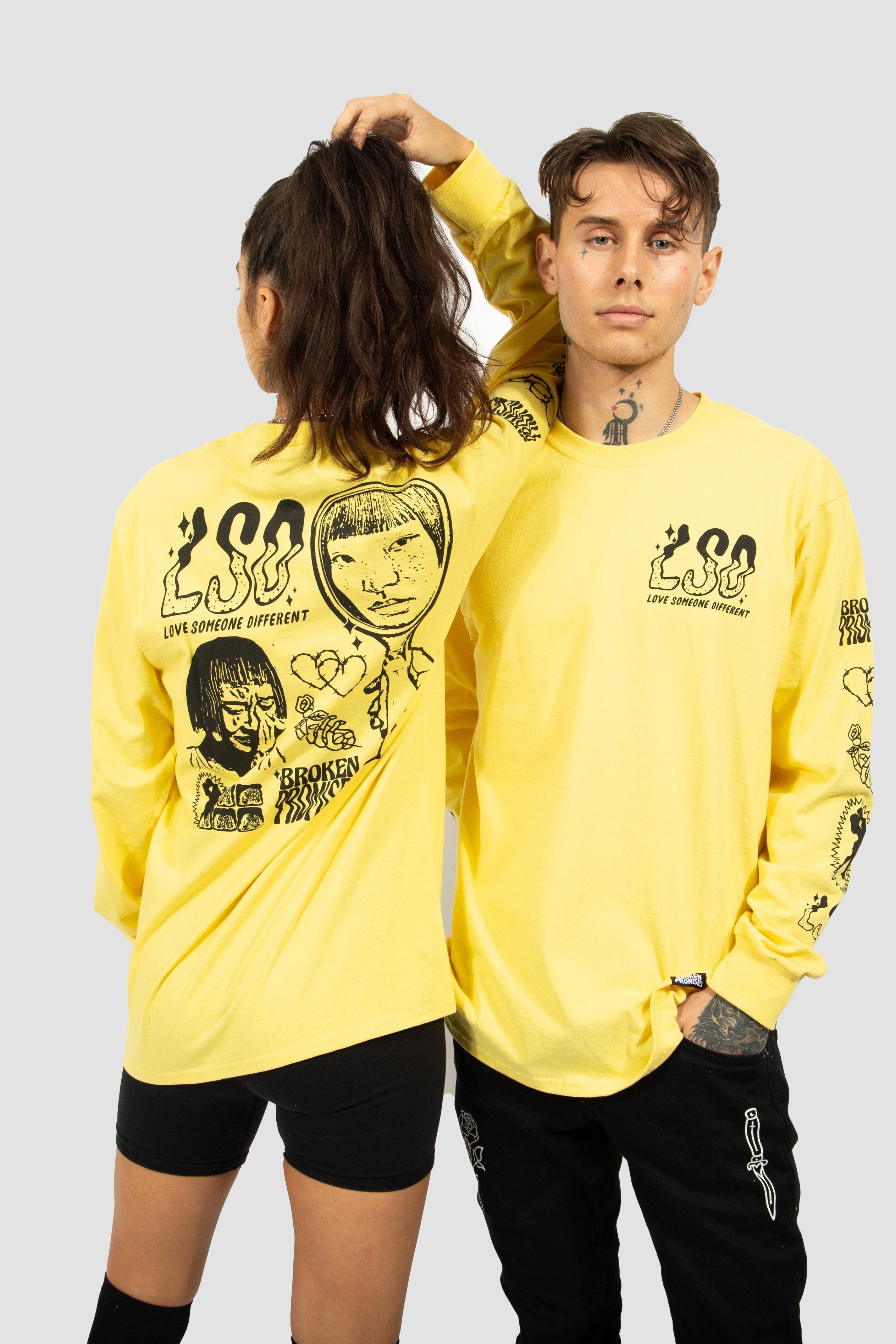 "Fake Fairytale L/S ""Yellow"""