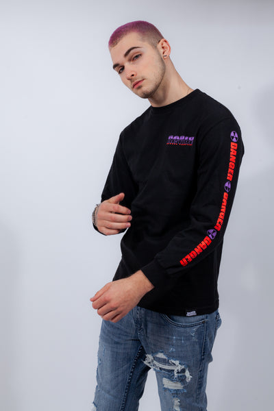 "Radioactive L/S ""Red/Purple Print"""