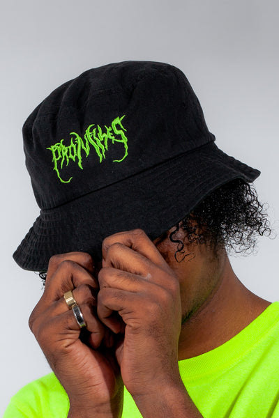 Graveyard Bucket Hat Blk/Green