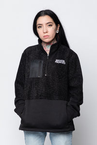 Dark Web Polar Fleece Pullover Blk