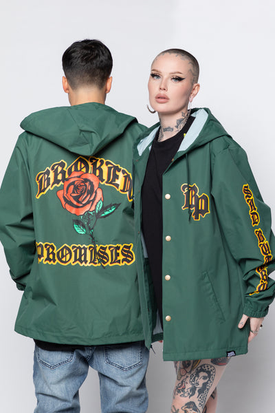 Sad But True Hooded Windbreaker Jacket